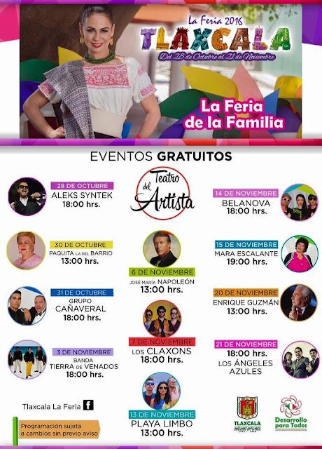 teatro del pueblo feria tlaxcala 2016