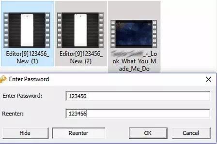 cara password video-5