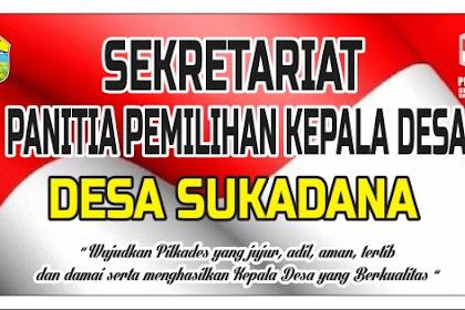 20+ Latest Contoh Spanduk Sekretariat Pilkades