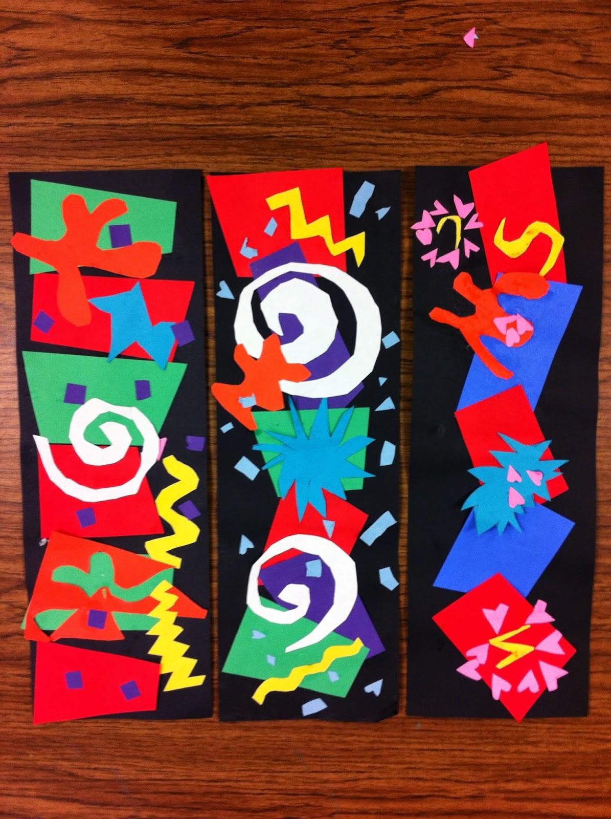 Drip Drip Splatter Splash Matisse Cutouts