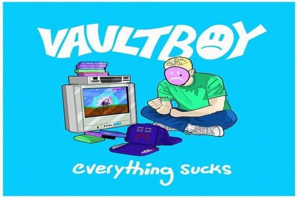 Lirik Lagu Vaultboy Everything Sucks dan Terjemahan