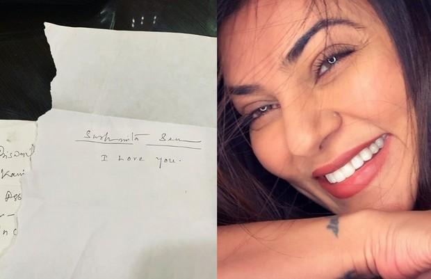 fan write love letter to sushmita sen
