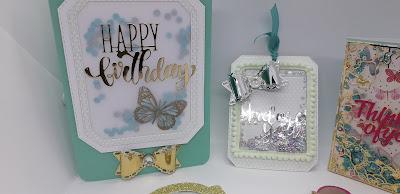 Easy vellum shaker card, Flat shaker card, positivelypapercraft