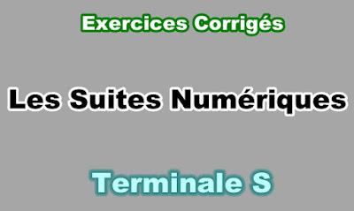 Exercices Corrigés de Suites Numériques Terminale S PDF