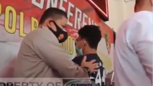 Video Satrio Pencoret Mushala Mewek di Kantor Polisi