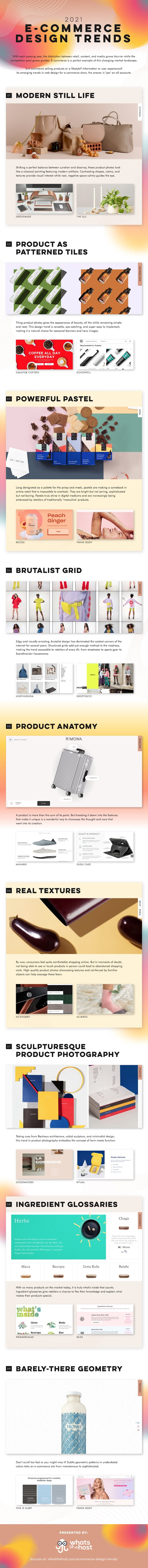 9 Versatile Trends For Ecommerce Design Inspiration In 2021 #infographic #Ecommerce Design  #eCommerce #Design Trends #infographics #Infographic