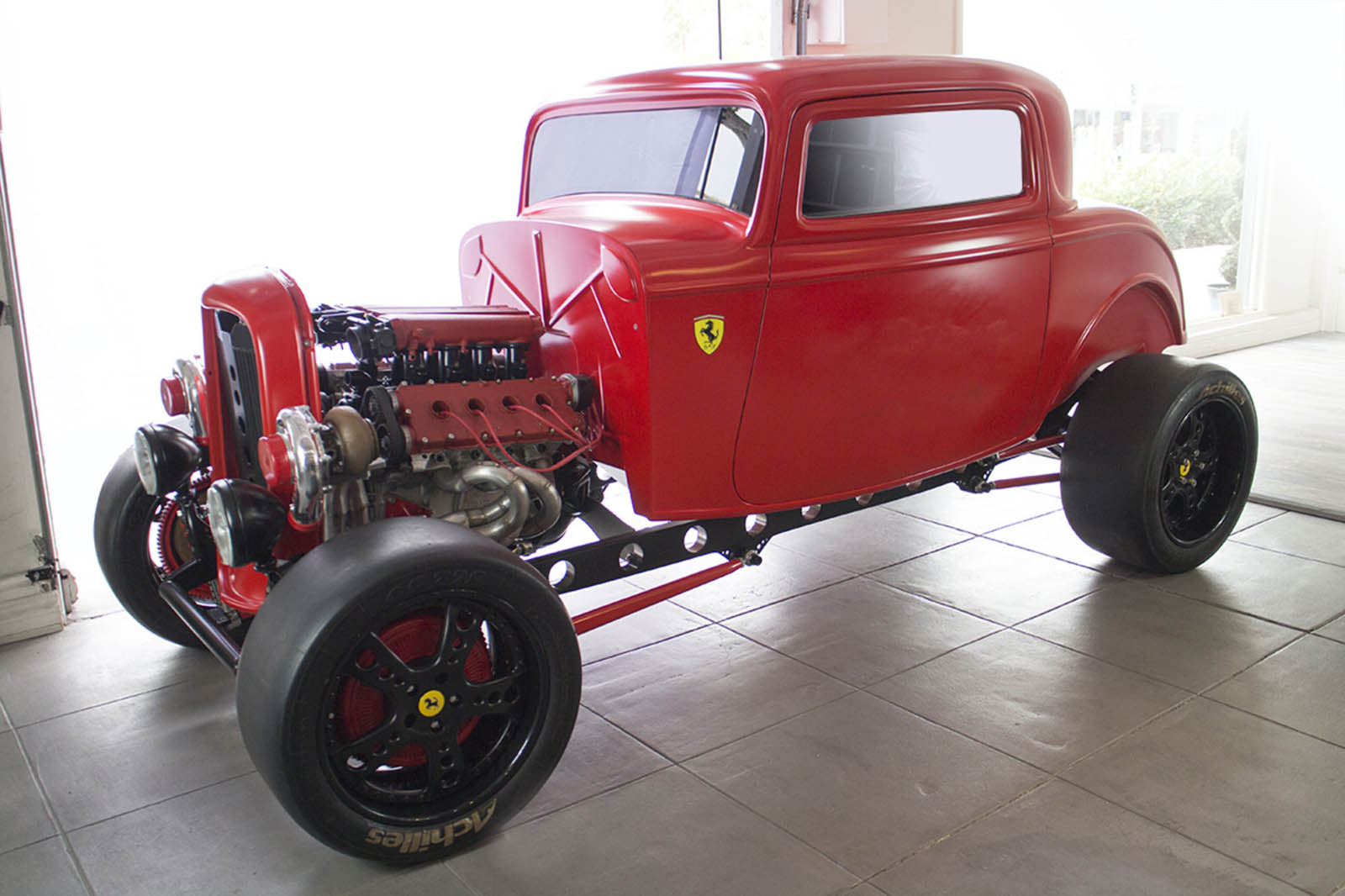 This Ferrari-Powered Ford Hot Rod Has A Split Personality   Carscoops