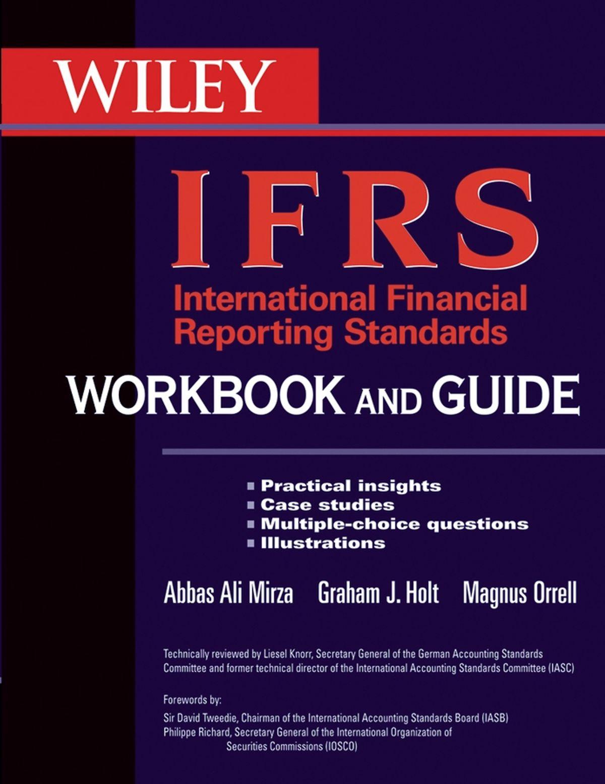 كتاب ودليل المعايير الدولية لإعداد التقارير المالية