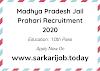 Madhya Pradesh Jail Prahari Recruitment 2020