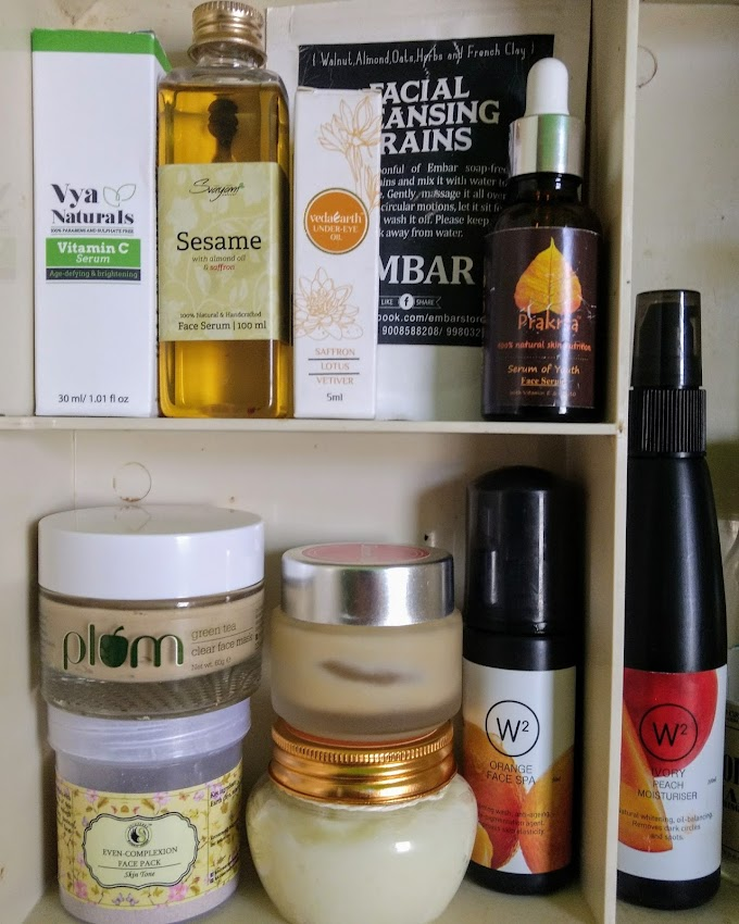 My current skincare routine and products for clear and bright skin