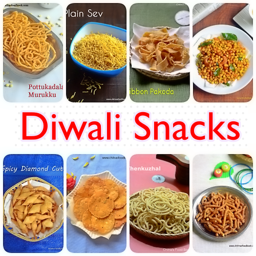 Diwali snacks recipes collection