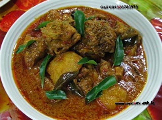 Resep gulai ayam kampung ala padang nasi box walini ciwidey