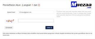 cara masukkan email npwp online