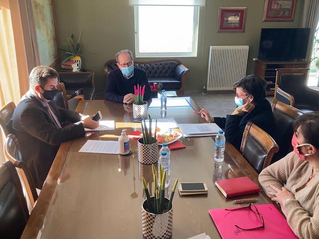 Σύσκεψη υπό τον περιφερειάρχη Π. Νίκα στο Ναύπλιο