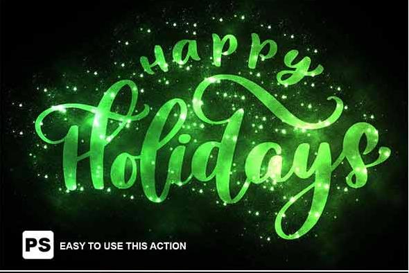 Tạo Hiệu Ứng Chữ Giáng Sinh Bằng Photoshop