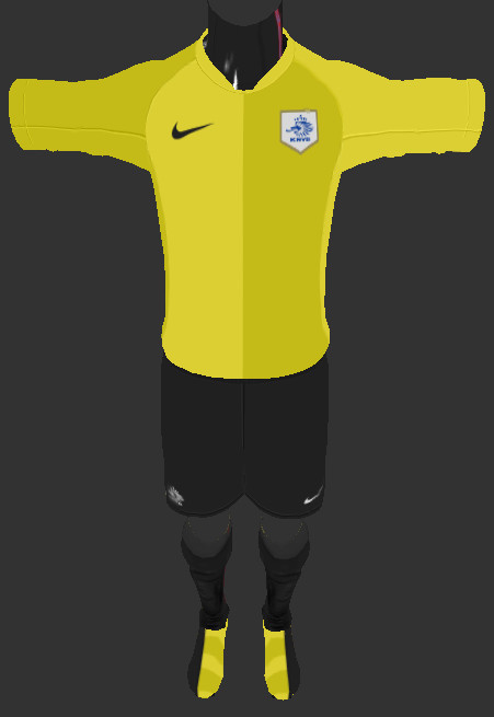 Netherlands 2006 World Cup Kit PES 2013