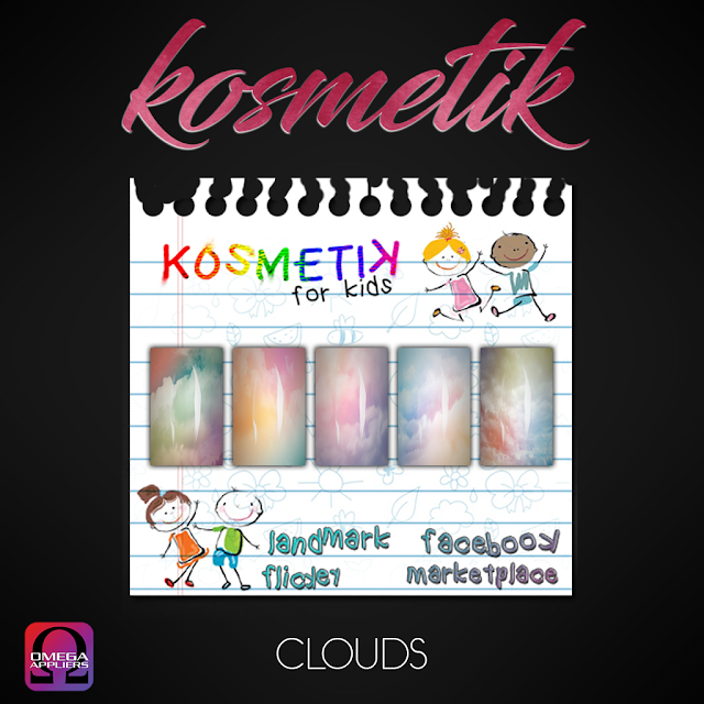 ".kosmetik Kids Nail Appliers ""Colorful"""