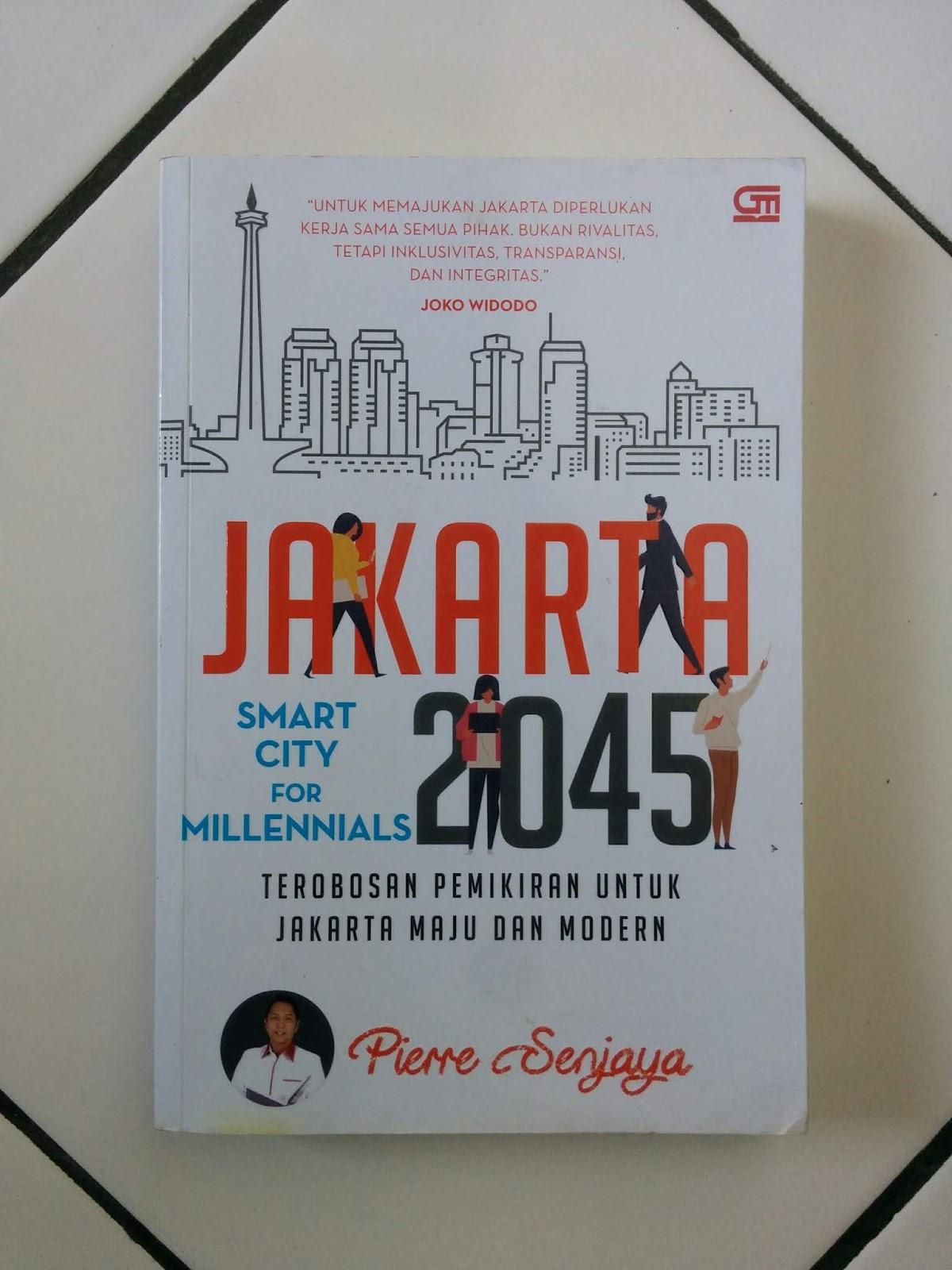 Buku Bekas Jakarta 2045: Smart City For Millenials