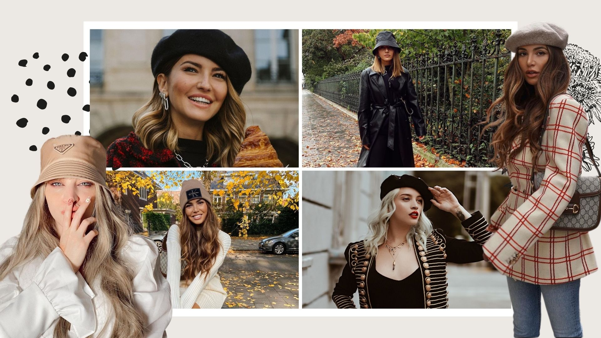 Bonnets & Hats FALL TRENDS 2020