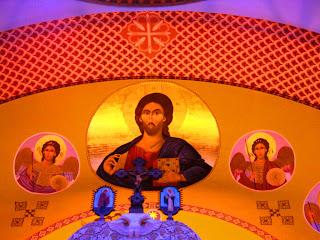 Pinturas no Altar da Catedral Ortodoxa de São Paulo