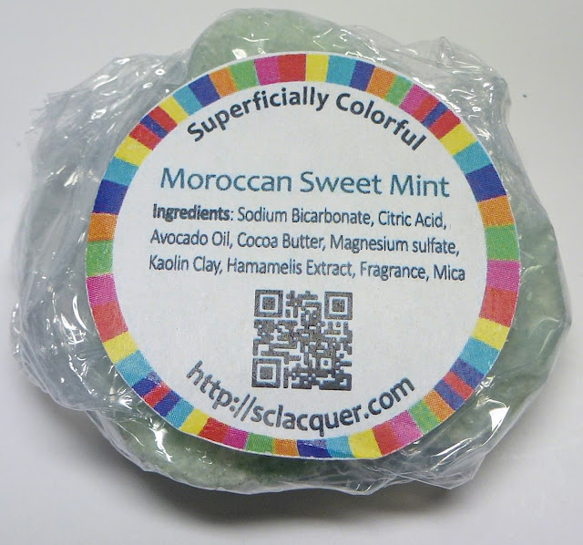 Superficially Colorful Moroccan Sweet Mint Mani Fizz