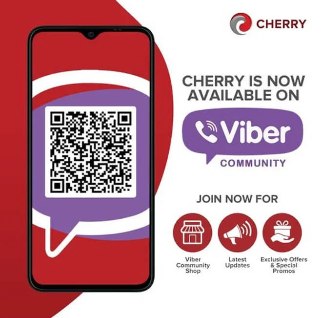 CHERRY IS NOW ON VIBER! Exclusive Promo from March 1-15, 2021