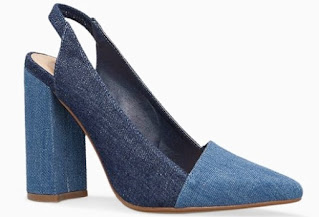 Shoeography Shoe of the Day - JustFab Raquell Slingback Pump