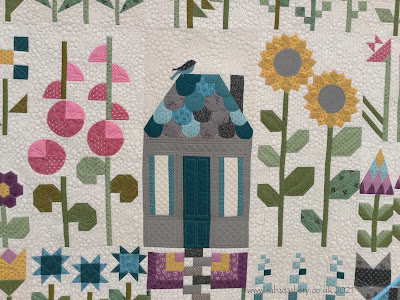 Margie's 'Quilter's Patch Garden' quilt