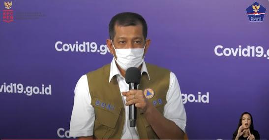 Doni Ungkap Kasus Aktif COVID-19 di Indonesia Menurun