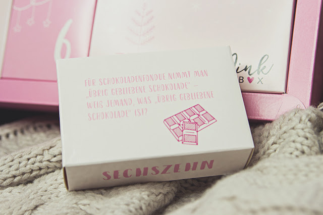 Pink Box Adventskalender - Türchen 16