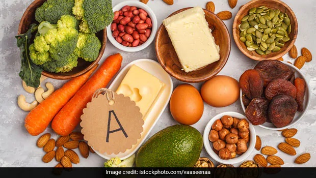 Vitamin A rich food