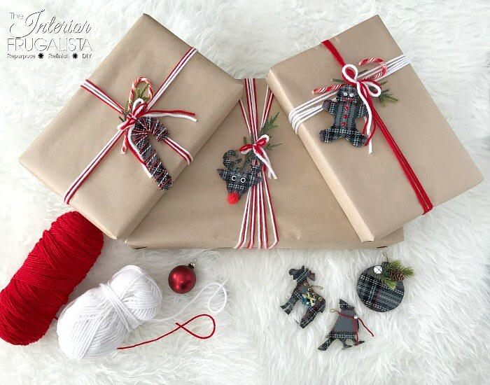 Reuseable Eco Friendly Holiday Gift Wrapping