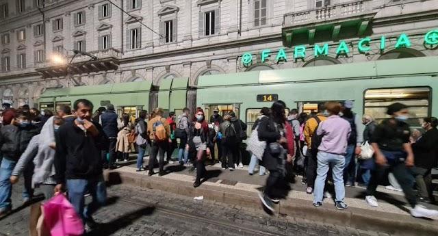 La fine dei tram a Roma