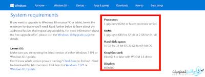 اختبر حاسوبك للتأكد هل إذا كان قداراً على تشغيل windows 10 أم لا