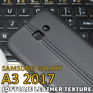 Retro-SoftCase-Leather-Texture-Back-Cover-Samsung-Galaxy-A3-2017