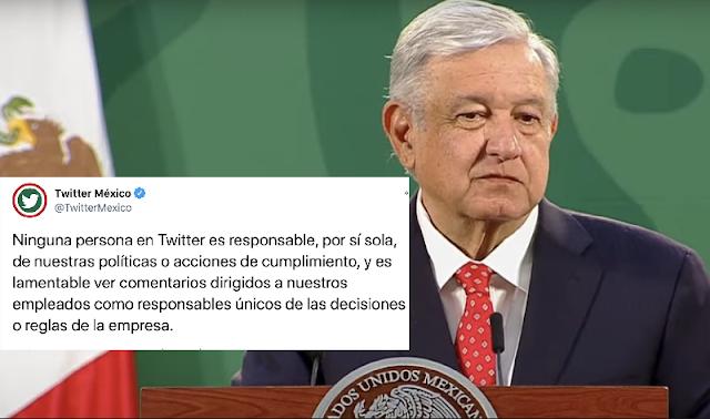 El director de Twitter México asesoró al PAN: AMLO; lo desmienten