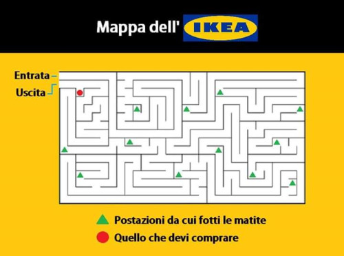 Cartina Mondo Ikea.Raibobo It Mappa Dell Ikea