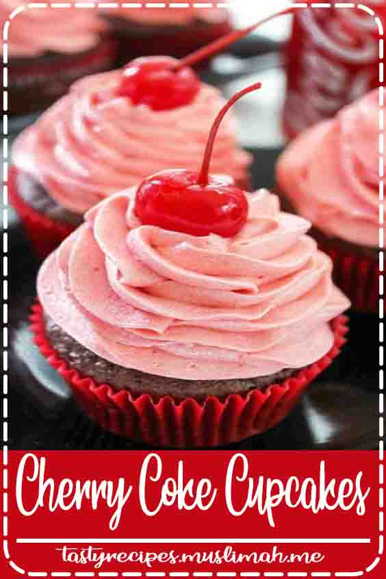 Craving a novel summer sweet? Refresh yourself with a Cherry cake created with real Cherry Coke! These delicious chocolate cherry cupcakes begin with a box combine.  The box combine is elevated with Cherry Coke and cherry juice. Total Coke addict? there's Cherry Coke within the topping too!