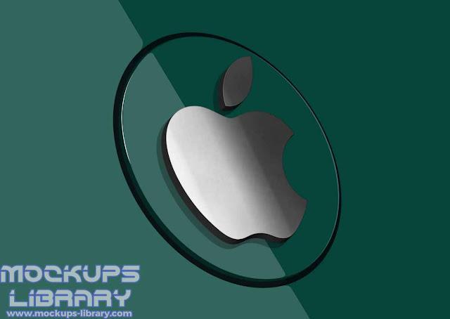 3d logo mockup psd free download