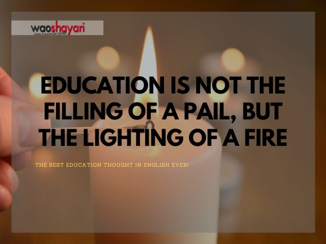 education thought of the day English