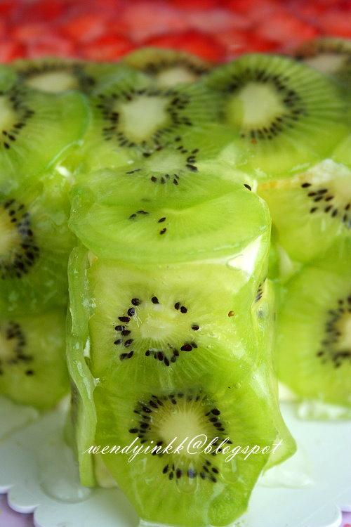 Strawberry Kiwi Cake Topping Ideas