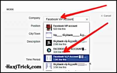 how to make vip account on facebook in hindi
