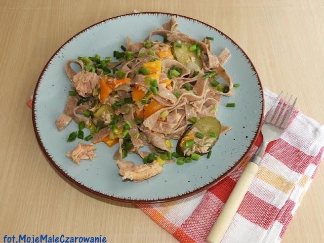 Żytnie pappardelle z tuńczykiem - CZYTAJ DALEJ