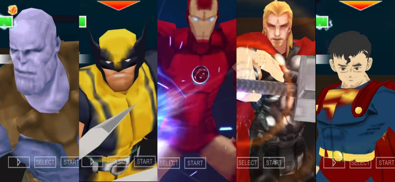 Marvel Vs DC Game for Android