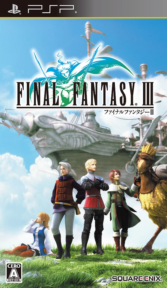 ROMs - Final Fantasy III (Português) - PSP Download