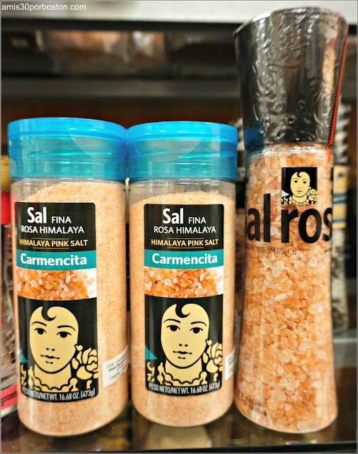 Productos Españoles en los Comercios de Massachusetts: Sal Rosa de Carmencita