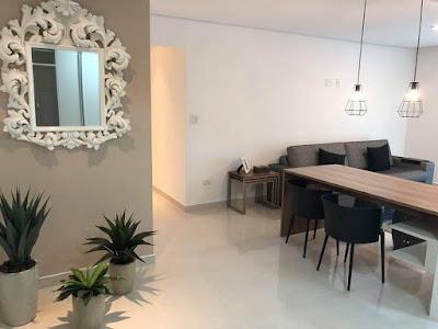 pintura interna de apartamento pequeno