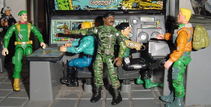 1997 Stalker, Toys R Us Exclusive Stars & Stripes Set, Unproduced Comic Pack Caucasian Stalker, Hawk, Effects, 1994 Star brigade, Dial Tone