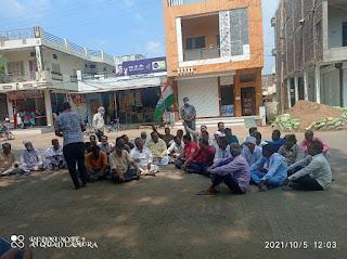 धरमपुरी ब्लाॅक कांग्रेस कमेटी के द्वारा महामहिम राष्ट्रपति के नाम सौपा ज्ञापन