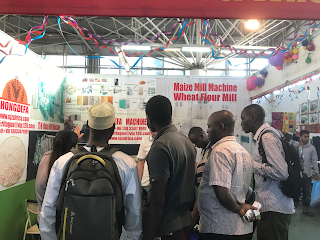 maize milling machine trade fair